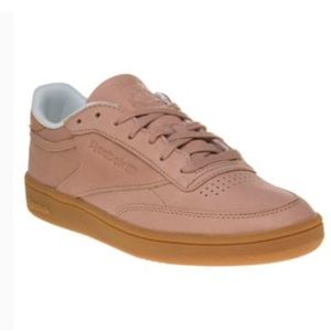 057a32b4e64 Reebok Shoes - Blush Reebok Classic Women s Club C 85 Sneakers